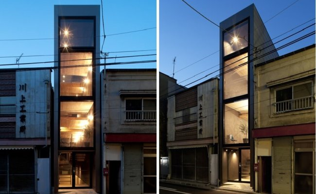 The 1 8m House In Tokyo By Yuua Architects