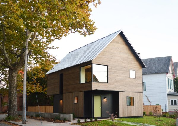 Affordable Family Home Designed & Built Yale Students