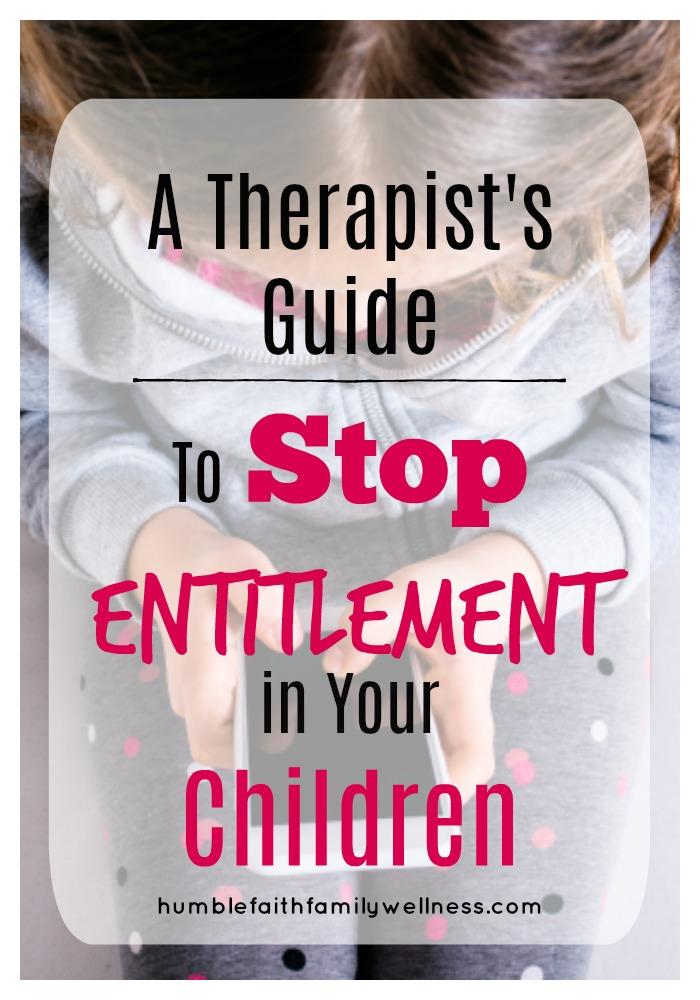 Entitlement, Parenting