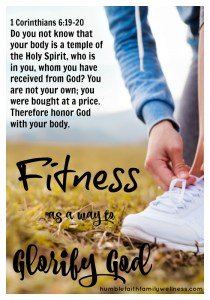Fitness, Glorify God, Health and Wellness