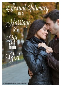 Sexual Intimacy, marriage