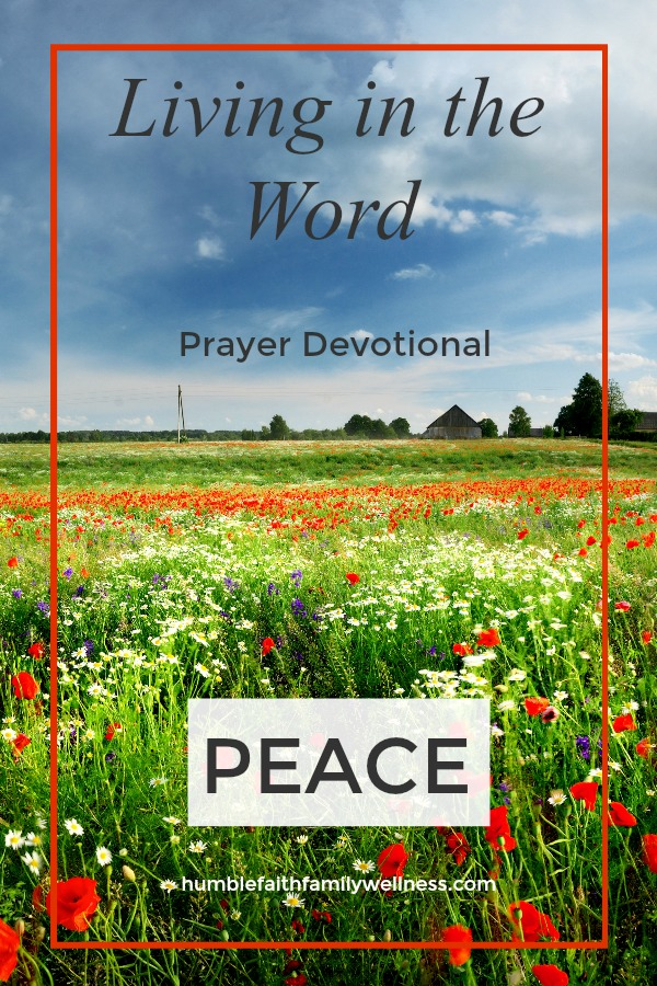 Peace, Prayer Devotional, Faith
