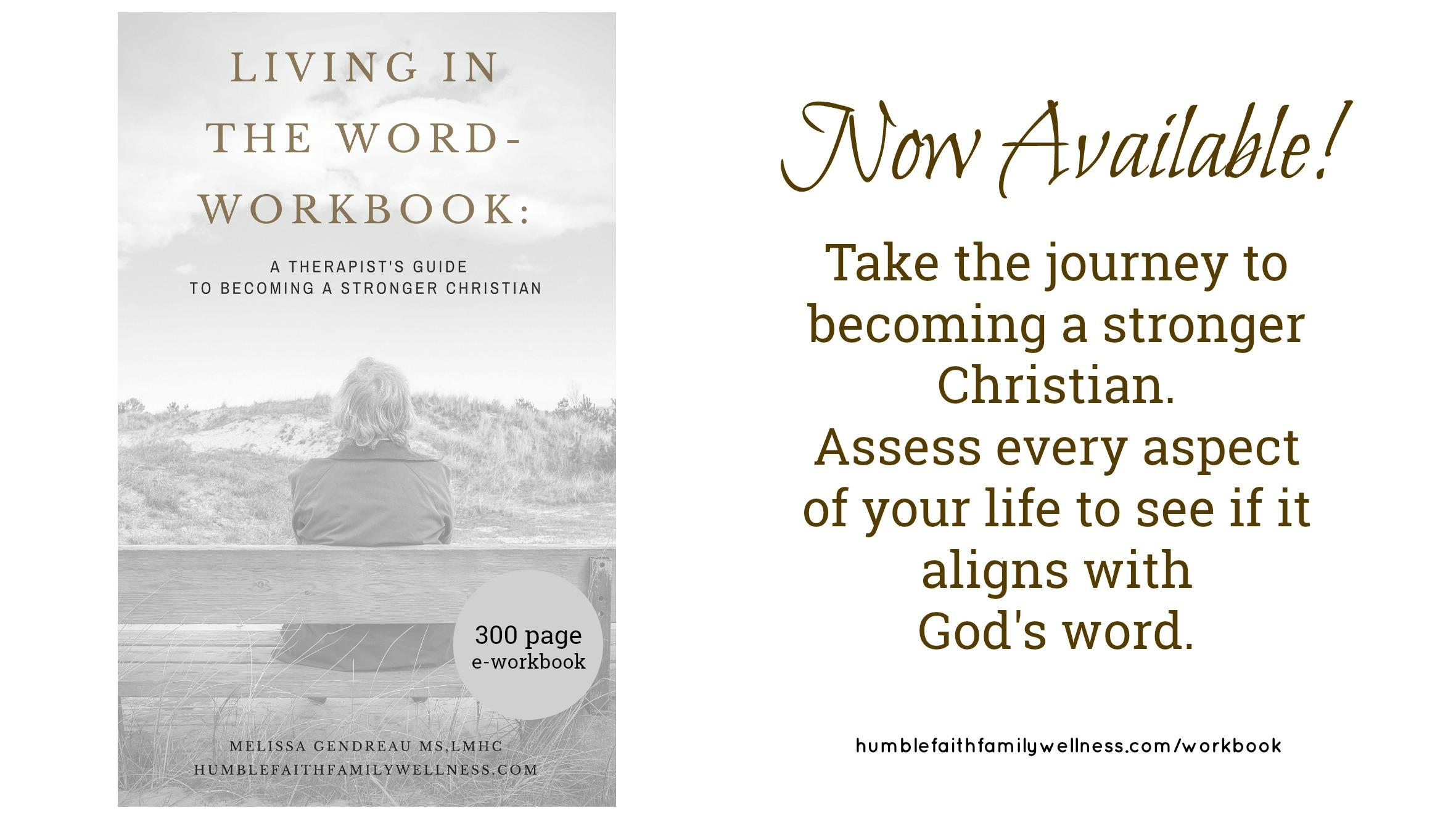 Living in the word eworkbook humble faith family wellness solutioingenieria Choice Image
