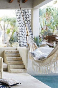 Boho_Outdoor_Space_with_Hammock