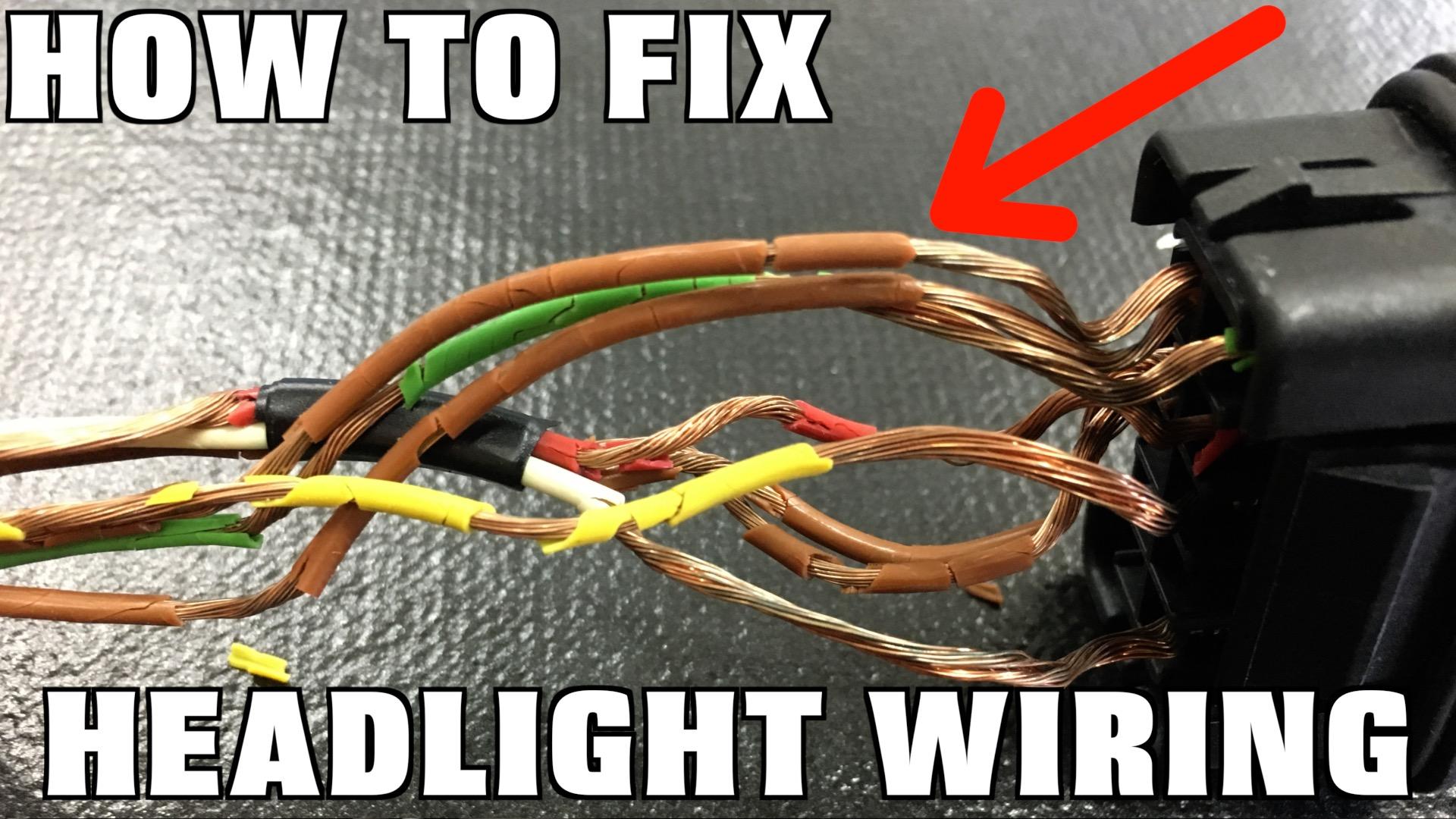 audi tail lights wiring