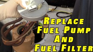 How To Replace a Fuel Pump and Fuel Filter ~ Project White
