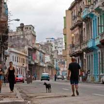 Havana street scene (late afternoon)
