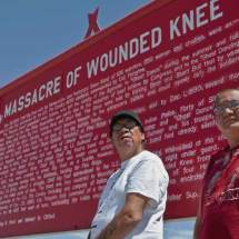 Wounded Knee (John and Chance High Hawk)