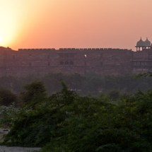 Agra Fort (at sunset)