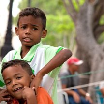 Boys playing in park (Havana)