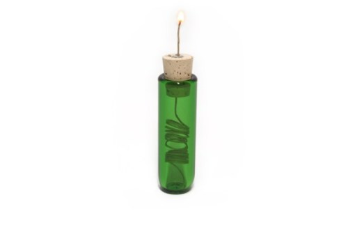 Pocket Sized Hempwick Dispensers Green