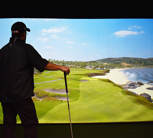 Humboldt Golf Club - Golf Simulators 2