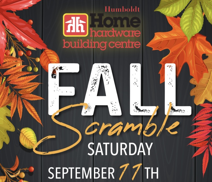 Image of Poster for Home Hardware Fall Scramble