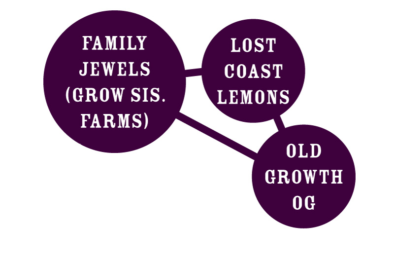 Family Jewels Strain Graph