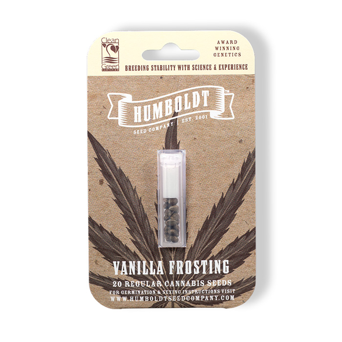 Humboldt Seed Company Vanilla Frosting Seed Pack