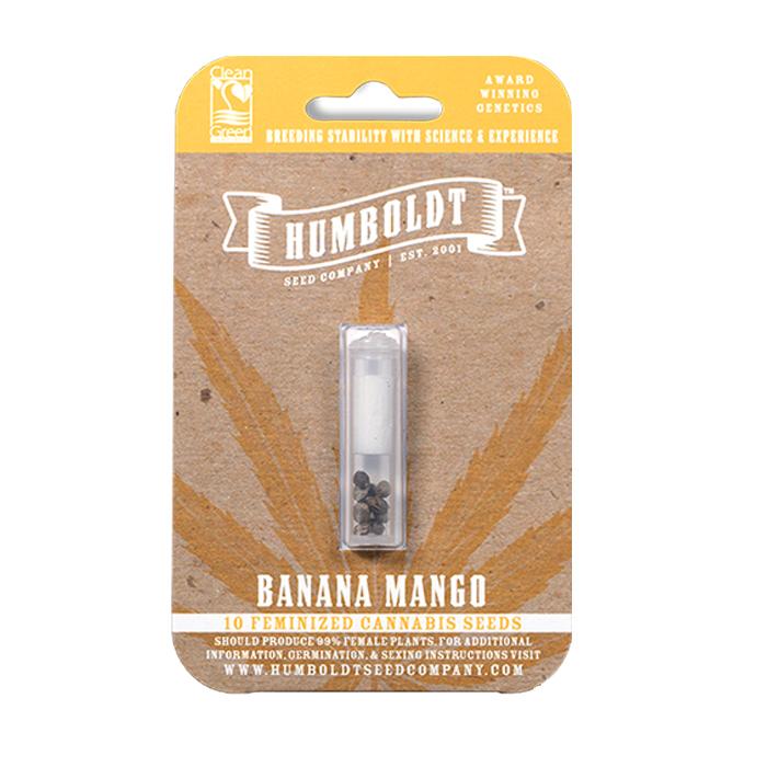 Humboldt Seed Company Banana Mango Seed Pack