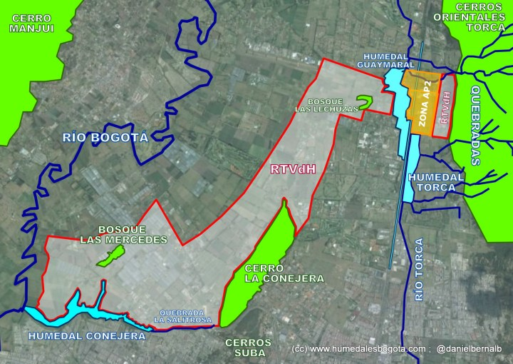 Mapa RTVdH