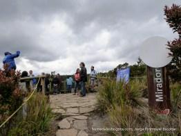Caminatas ecológicas, laguna de Guatavita
