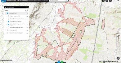 """La cacareada """"reserva"""" Peñalosa de 1710 hectáreas, en realidad son sólo 1020."""