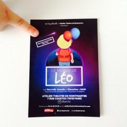 Le spectacle Le Monde de Léo