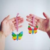 Les suspensions papillons