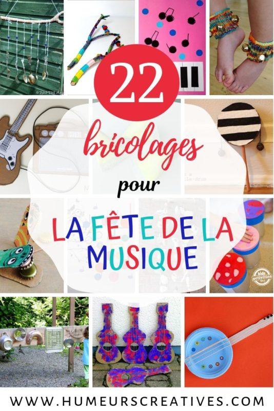 Musique Pour Faire La Fete : musique, faire, Bricolages, Fête, Musique