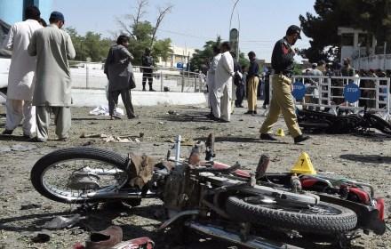 کوئٹہ: بم دھماکے میں 13 افراد ہلاک،