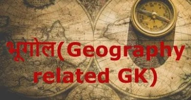 (Geography related GK)