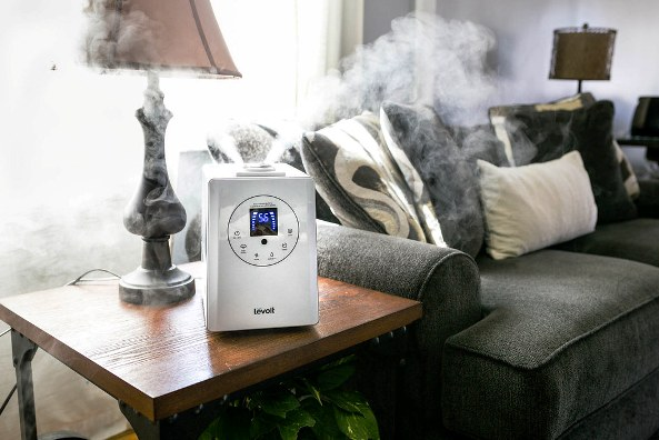 image of does a humidifier help with a cough