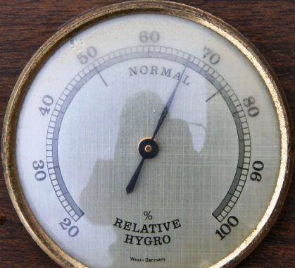 Image of Is 70 percent humidity high outside