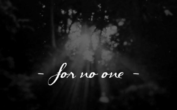 For no one, l'histoire d'une chanson