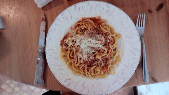 Spaghetti maison à la bolognaise
