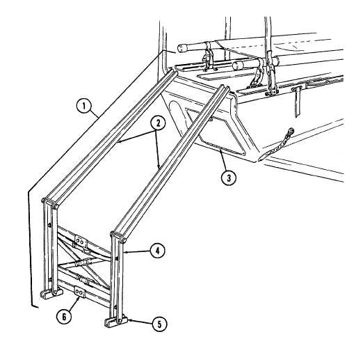 Fold and Stow Litter Rail Extension
