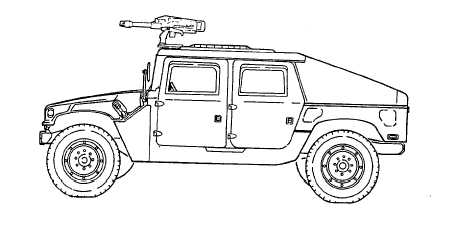 M1044 AND M1044AI W/WINCH (WITH M2, CAUBER .50 MACHINE GUN