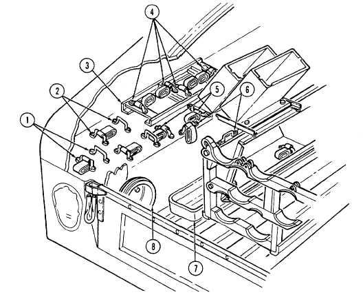 Telephone set footman loops