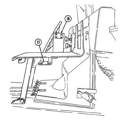 issile guidance set retaining latches