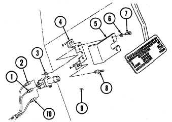 HEADLIGHT BEAM SELECTOR SWITCH AND BRACKET REPLACEMENT