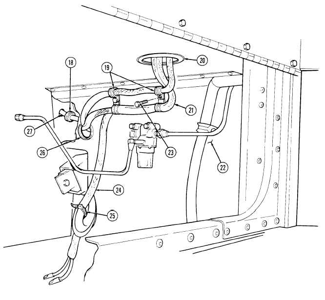 HEATER/VENT SYSTEM CONTROL BOX AND WIRING HARNESS