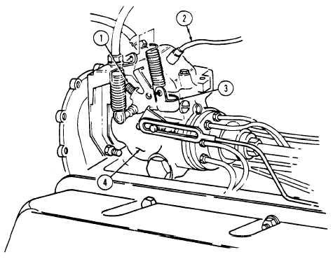 ENGINE IDLE SPEED ADJUSTMENT