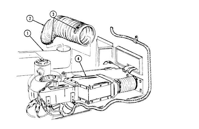 HEATER OUTLET/BLOWER FAN HOSE REPLACEMENT (M996, M996A1)