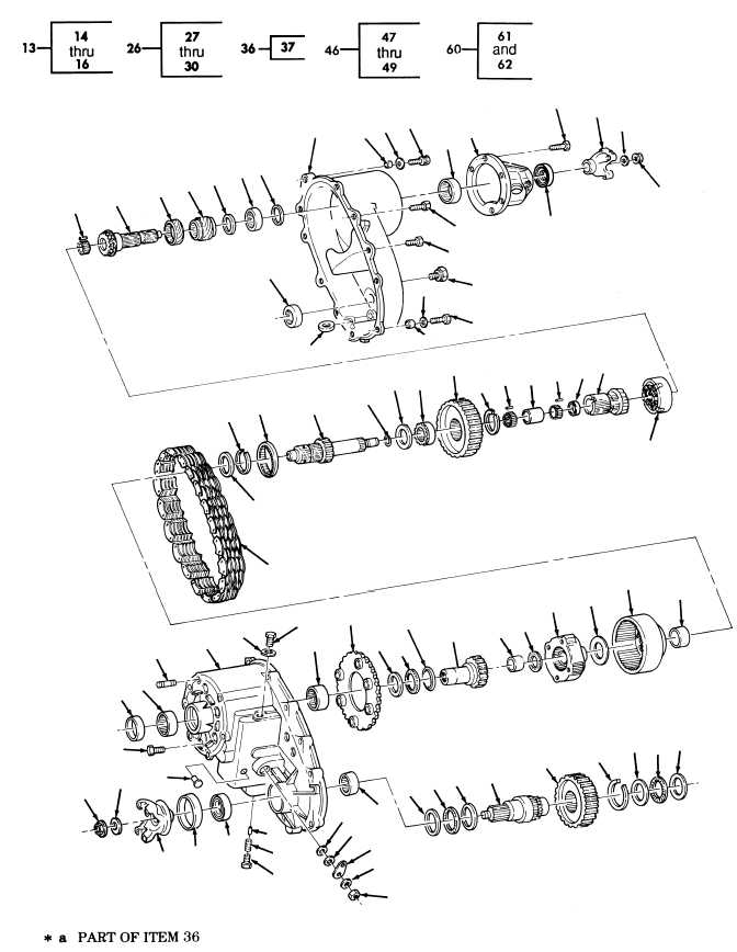 Transfer Case Assembly, P/N 12340073-1 FIG.
