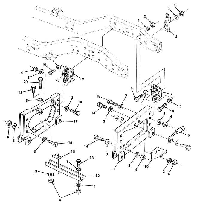 Front Suspension Crossmembers, Related Parts, and Mounting