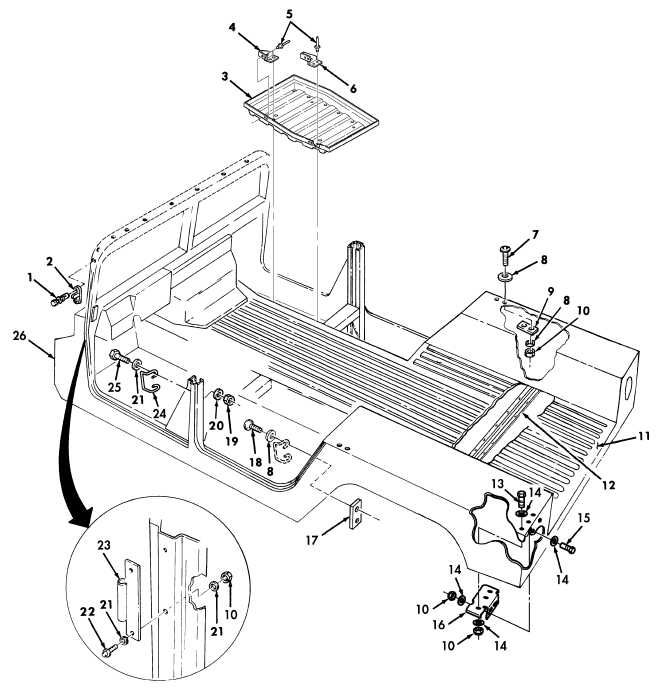 Body Assembly and Related Parts FIG.
