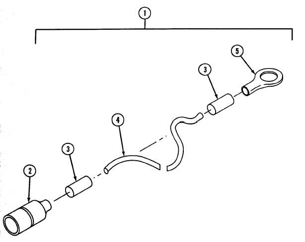 Figure 4. EES Kit, Ground Wire Assembly, A/C