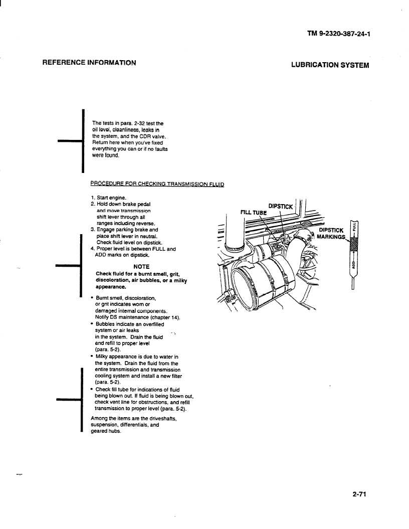 REFERENCE INFORMATION___LUBRICATION SYSTEM