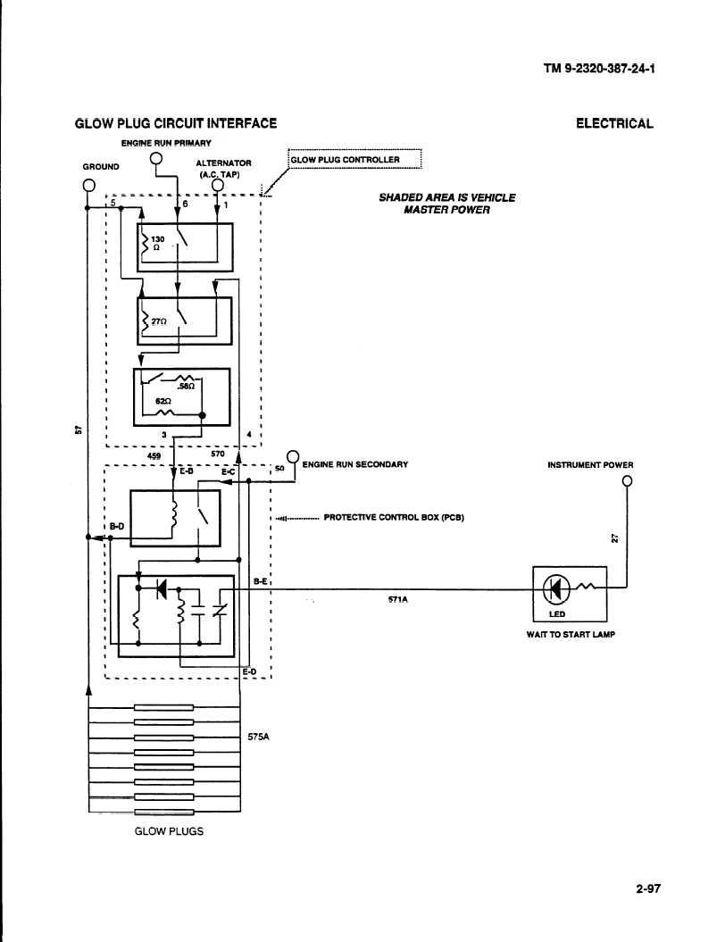 medium resolution of circuit diagram glow plug control