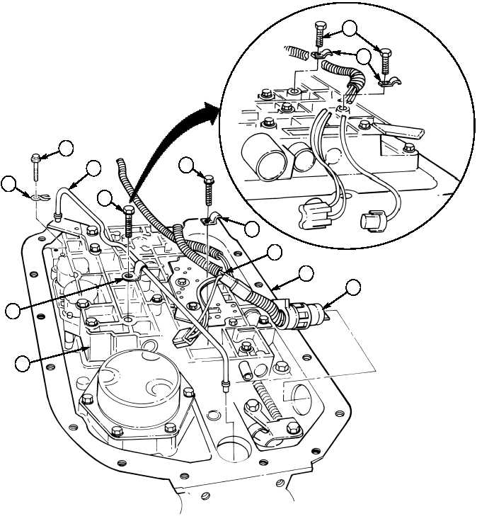 28-19. TRANSMISSION ASSEMBLY FROM SUBASSEMBLIES (Contd