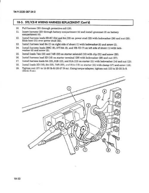 small resolution of ste ice r wiring harness replacement cont d i 10