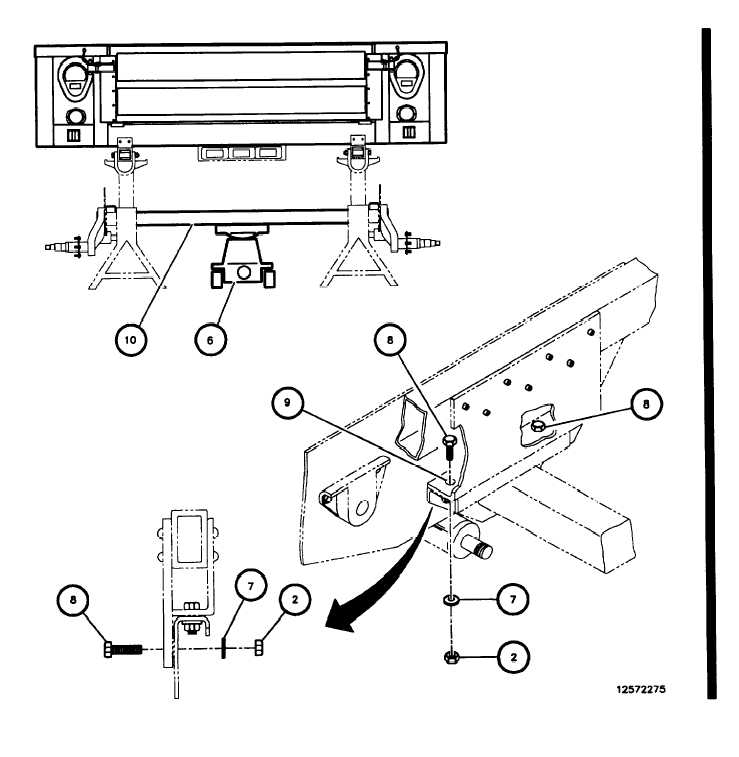 AXLE ASSEMBLY INSPECTION AND REPLACEMENT (Cont).
