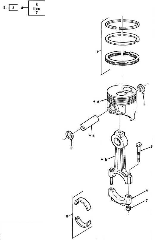 Figure 5. Piston Assembly, Rod Assembly, and Ring Set.